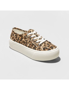 Women's Taryn Canvas Platform Sneakers   A New Day™ by A New Day