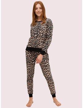 Cheetah Long Pj Set by Kate Spade