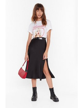 Days Of The Sleek Button Down Midi Skirt by Nasty Gal