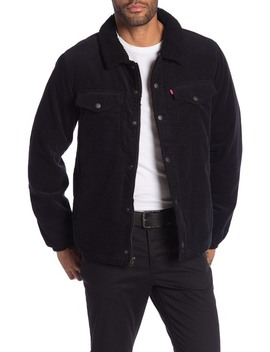 Corduroy Faux Shearling Lined Trucker Jacket by Levi's