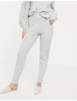 Asos Design Two Piece Cable Jogger by Asos Design