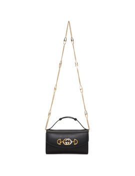 Black Mini Zumi Bag by Gucci