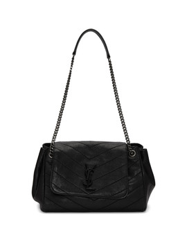 Black Small Quilted Nolita Bag by Saint Laurent