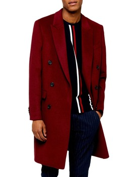 Frazer Double Breasted Coat by Topman