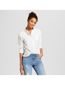 """<Span><Span>Women's Long Sleeve Camden Button Down</Span><Br><Span>Shirt   Universal Thread</Span></Span><Span Style=""""Position: Fixed; Visibility: Hidden; Top: 0px; Left: 0px;"""">…</Span> by Down Shirt"""