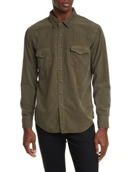 Classic Western Shirt by Saint Laurent
