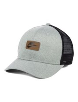 Nike Classic Patch Trucker Adjustable Snapback Hat   Gray by Nike