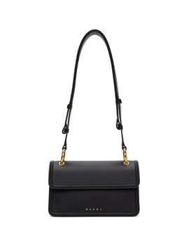 Black Beat Bag by Marni