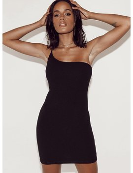 Alera Mini Dress Black by Princess Polly