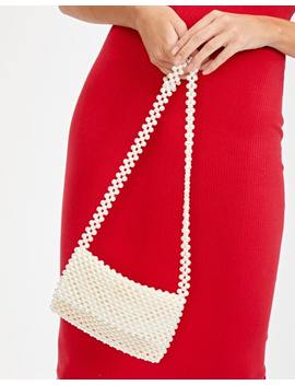 Pearl Mini Shoulder Bag by Glassons