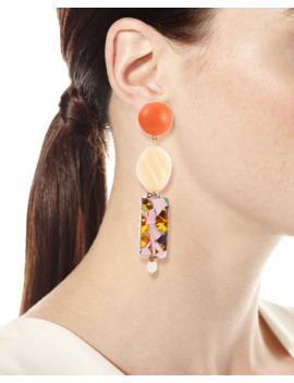 Stacked Dangle Earrings by Lele Sadoughi