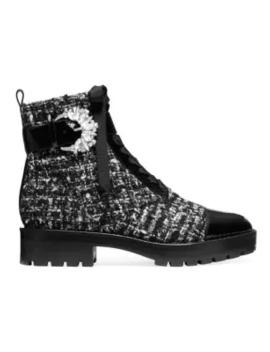 Frieda Tweed Booties by Michael Michael Kors