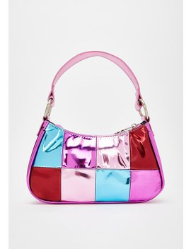 Shop Til I Drop Metallic Handbag by D E Li A*S By Dolls Kill