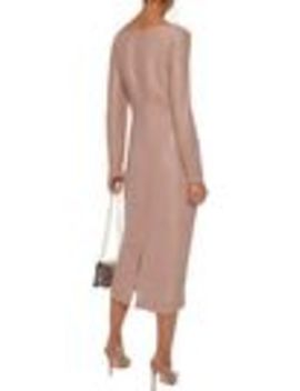 Cupido Metallic Bouclé Midi Dress by Max Mara