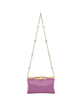 Purple Broadway Evening Bag by Gucci