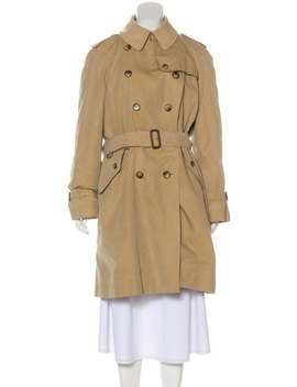 Double Breasted Trench Coat by Burberry London