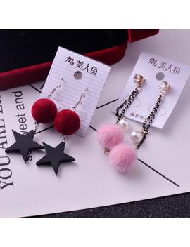 Wholesale 10/20/50 Pairs Mixed Lots Long Tassel Pom Pom Earrings Cute Brincos Geometric Pendientes Dangle Earrings Women Gift by D Hgate.Com