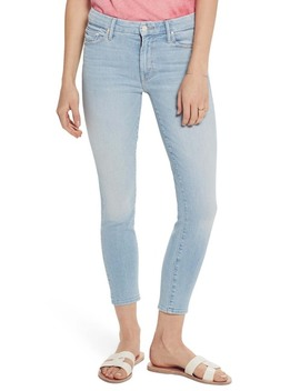 The Looker High Waist Ankle Skinny Jeans (Fresh Catch) by Mother