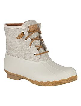 Women's Saltwater Wool Embossed Duck Boot W/ Thinsulate™  Women's Saltwater Wool Embossed Duck Boot W/ Thinsulate™ by Sperry