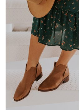 Trist Leather Booties by Roolee