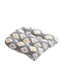 Pillow Perfect Rodrigo Chair Pad In Grey by Bed Bath And Beyond