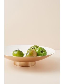 Footed Mina Bowl by Anthropologie