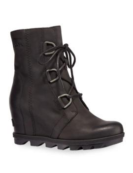 Joan Wedge Waterproof Leather Booties by Sorel