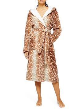 Bambi Plush Robe by Topshop