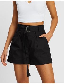 Take A Trip Cotton Shorts by Dazie