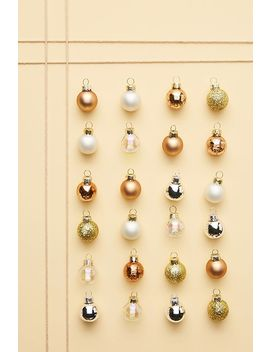 Copper Mini Ornaments, Set Of 24 by Anthropologie