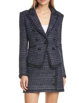 Cooke Tweed Dickey Jacket by Veronica Beard