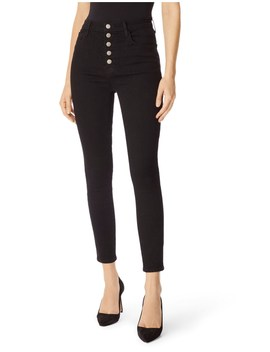 Lillie High Rise Cropped Skinny Ijean by J Brand