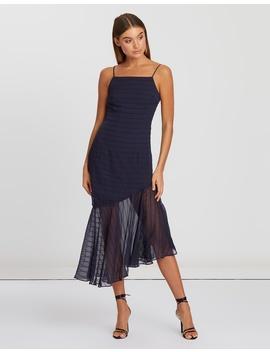 Keath Asymmetric Hem Dress by Bwldr