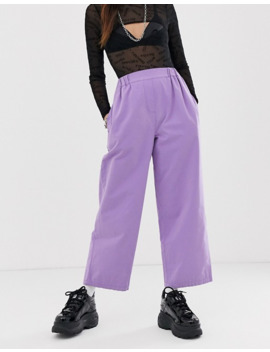 Asos Design Moleskin Pull On Pant In Awkward Length by Asos Design
