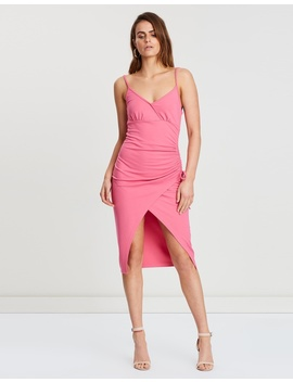 Isla Wrap Front Dress by Atmos&Here