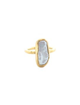 Devotion Pearl Ring by Child Of Wild