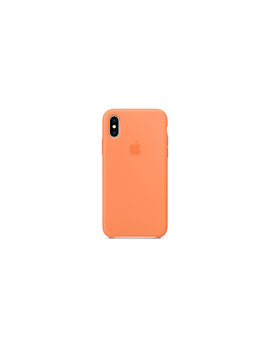 I Phone Xs Silicone Case   Papaya by Apple