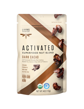Living Intentions Superfood Nut Blends Dark Cacao by Well