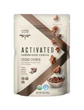 Living Intentions Superfood Cereal Cacao Crunch by Well