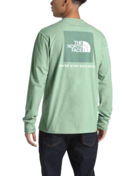 The North Face Men's Long Sleeve Red Box Fashion T Shirt by The North Face