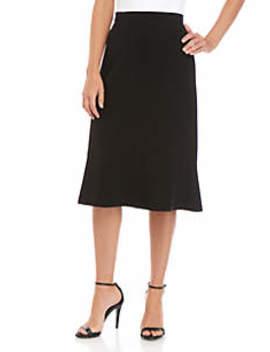 Stretch Flare Skirt by Kasper