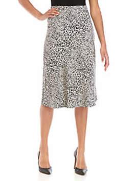 Animal Print Skirt by Kensie