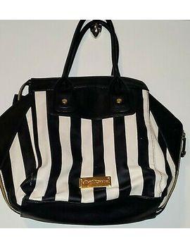 Betsey Johnson Handbags Stripes And Bow by Ebay Seller