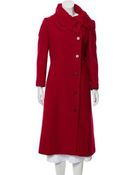 Virgin Wool Long Coat W/ Tags by Carolina Herrera