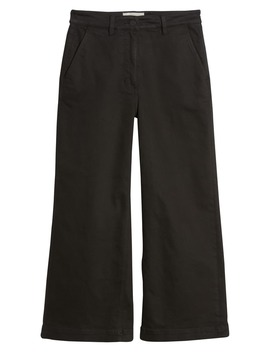 The Wide Leg Crop Pants by Everlane