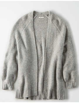 Ae Open Front Oversized Cardigan by American Eagle Outfitters