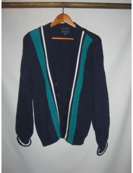 Hand Framed Cable Knit Cardigan by Gant  ×