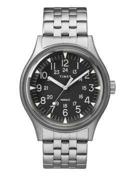Mk1 Steel 40mm Stainless Steel Watch by Timex