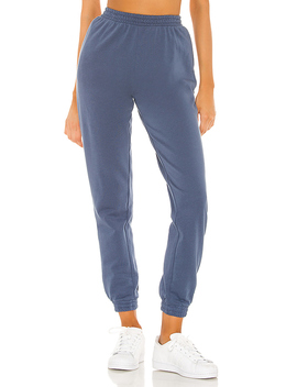 Dallas Joggers In Blue by Superdown