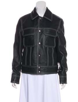 Leather Biker Jacket by Sandro